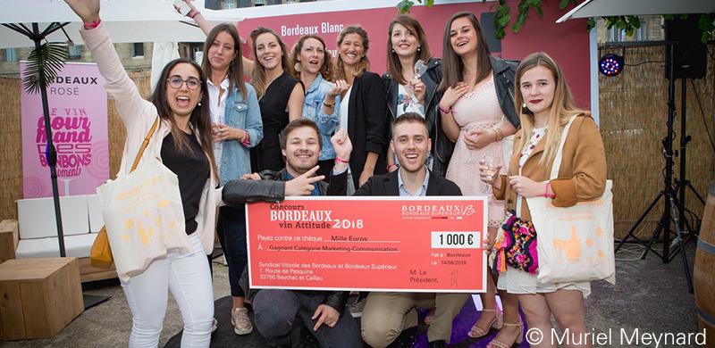 Résultats Concours Bordeaux Vin Attitude 2018