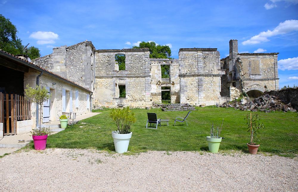Ruines du Château Boutinet