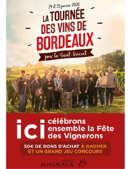 Tournée des Vins de Bordeaux pour la Saint-Vincent