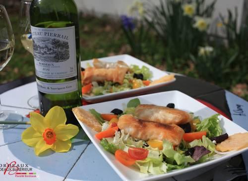 Salade Composée & Cabillaud Croustillant