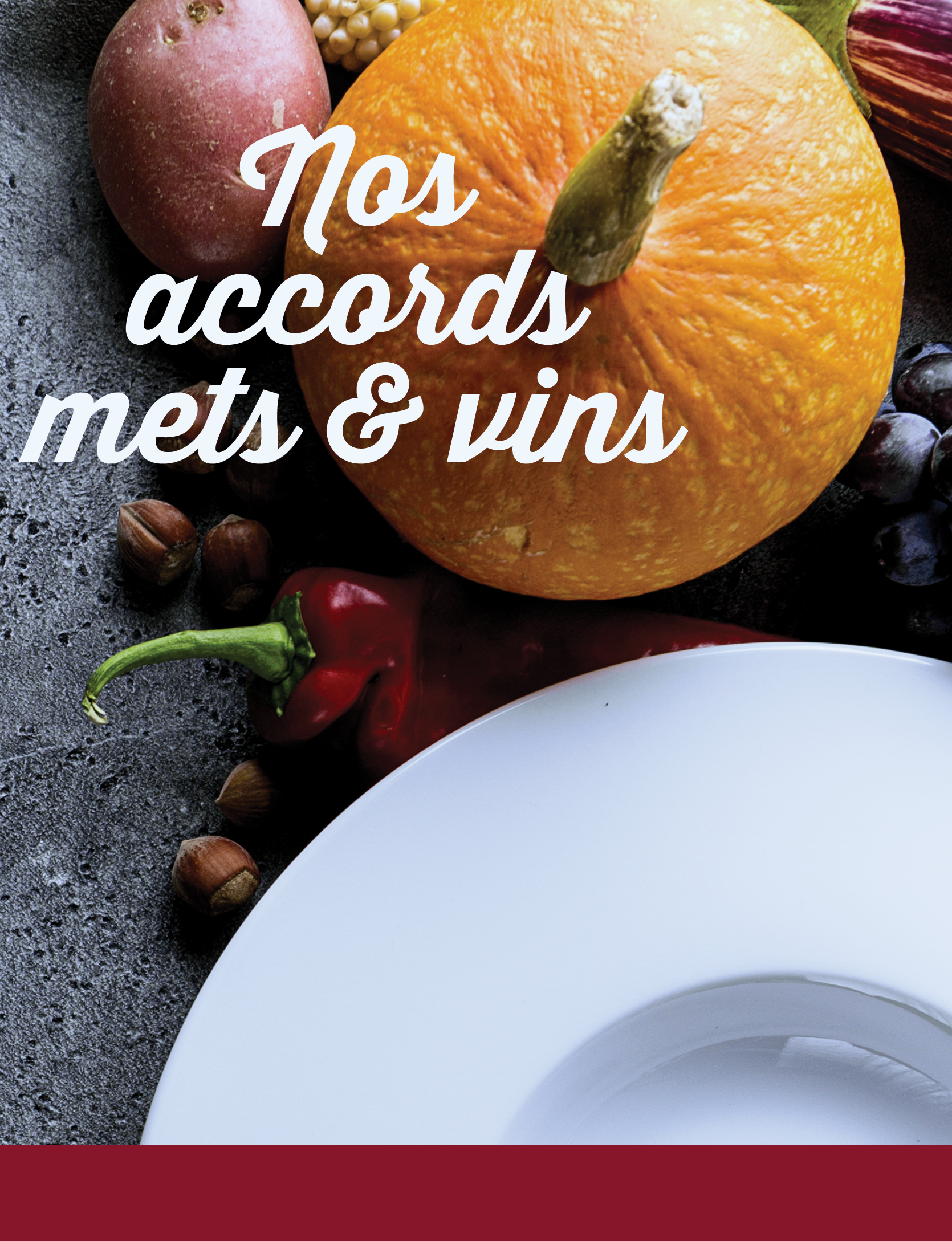 Nos accords met et vin
