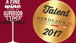"""Our 2017 """"Talents des Bordeaux"""""""
