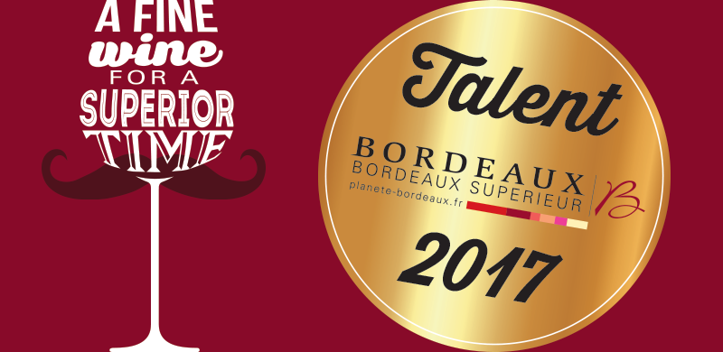 "Our 2017 ""Talents des Bordeaux"""