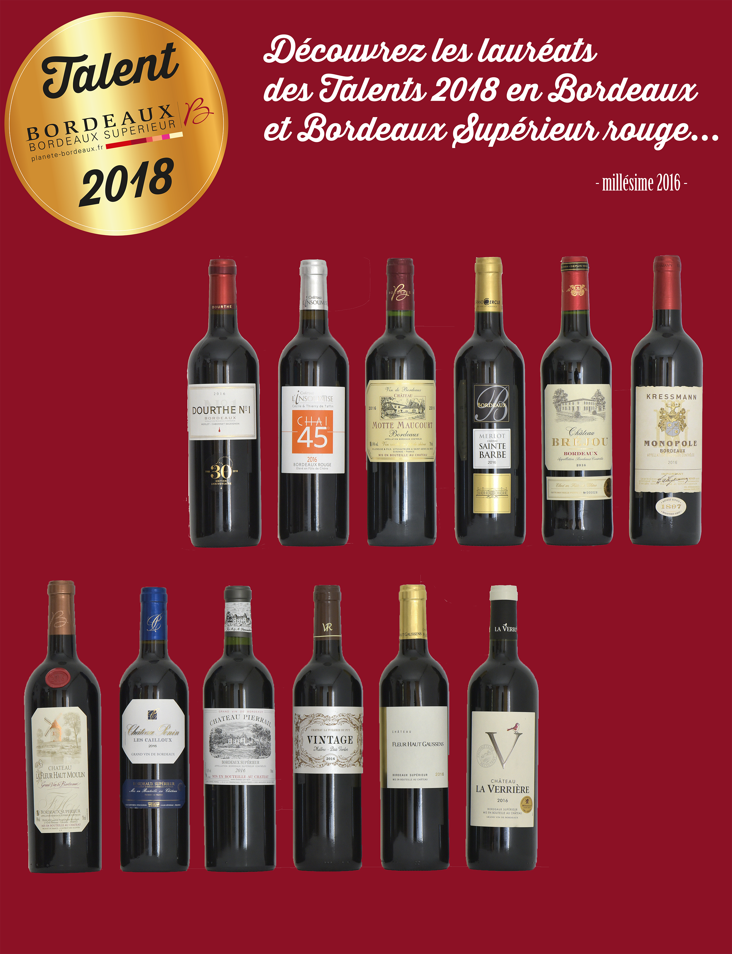 Les Talents des Bordeaux 2018
