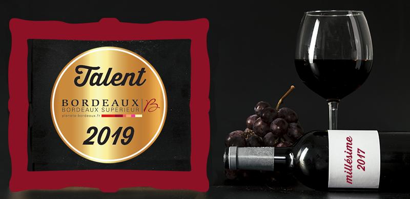 Talents des Bordeaux 2019