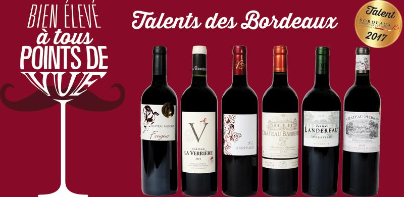 Talents des Bordeaux 2017