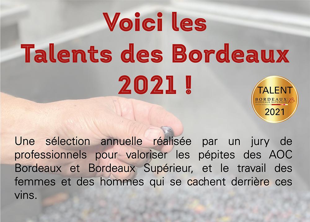 Talents des Bordeaux 2021