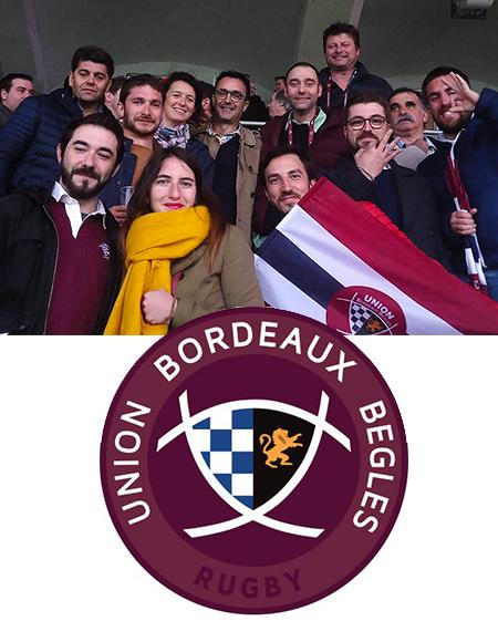 Les Bordeaux & Bordeaux Sup' partenaires de l'UBB