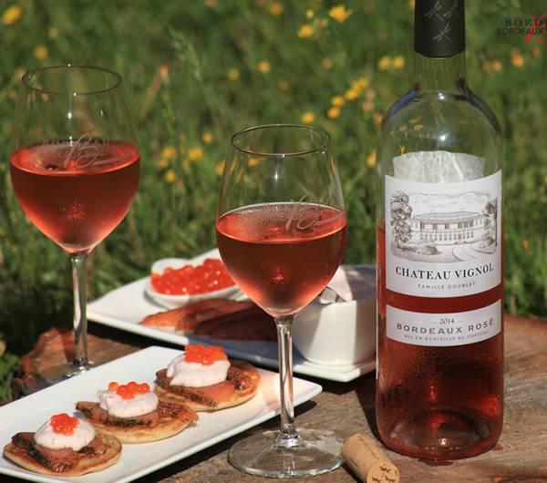 Le Bordeaux Rosé du Château Vignol
