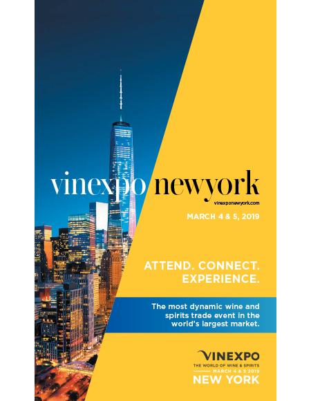 2019, année Vinexpo ! 1ère étape : NYC