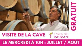 Visite guidée – Cave de Rauzan