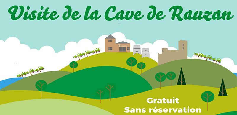 Visite des chais de la Cave de Rauzan