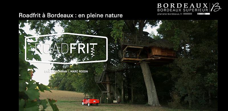 Roadfrit à Bordeaux : en pleine nature …