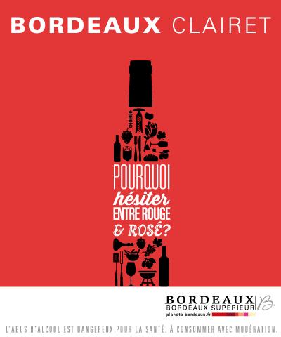 AOC Bordeaux Rosé et Bordeaux Clairet