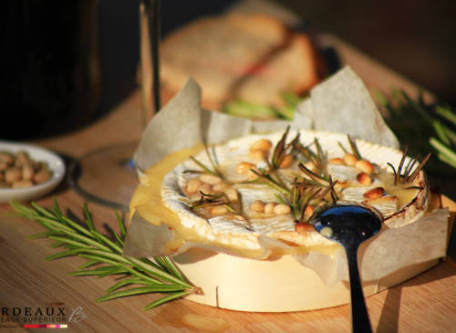Camembert Rôti Romarin & Miel