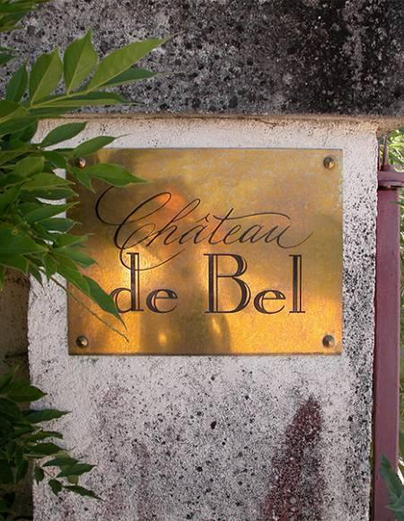 A la découverte de la cuvée Bel en blanc du château de Bel