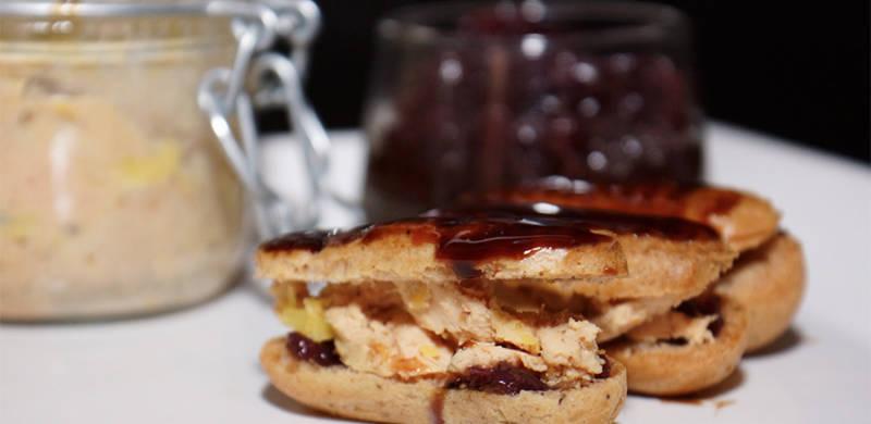 Éclair Foie gras et Crémant de Bordeaux