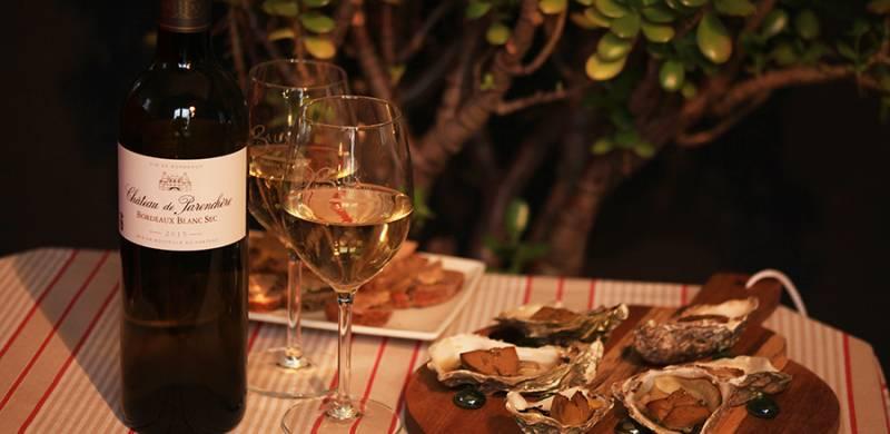 Huîtres gratinées au foie gras