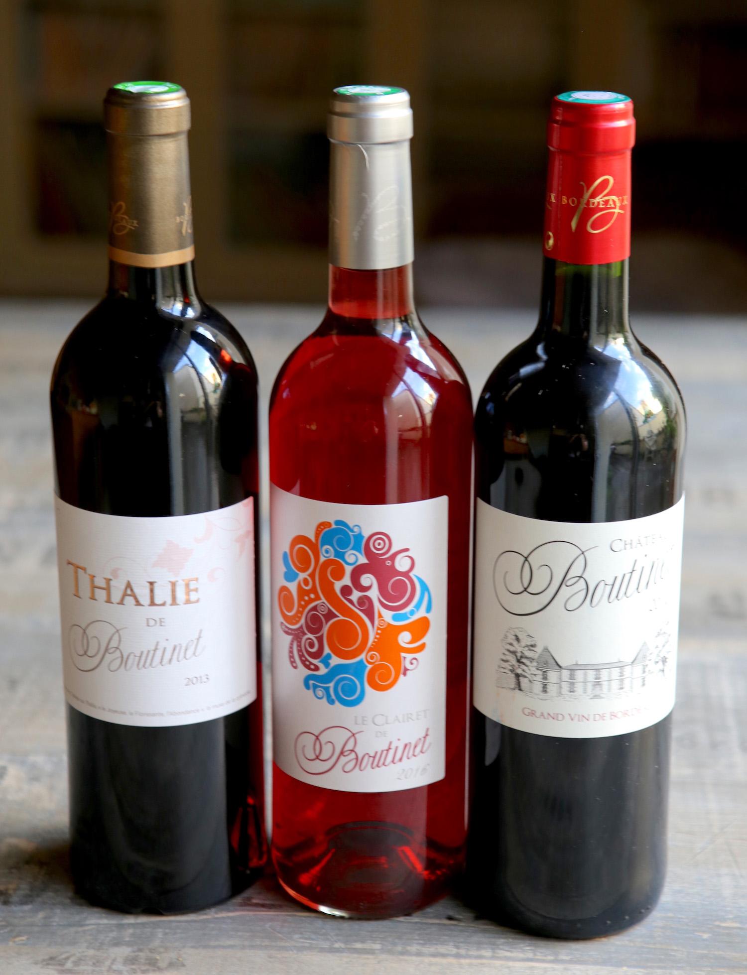 Vins du Château Boutinet